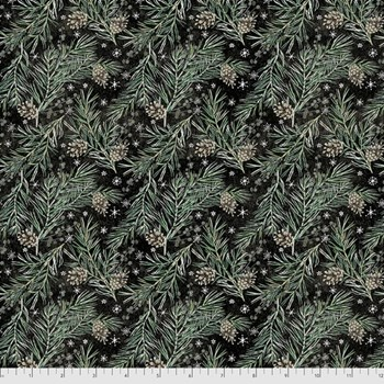 Pine Boughs - Black
