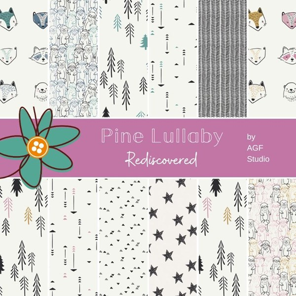 Pine Lullaby Fat Quarter Bundle by AGF Studios