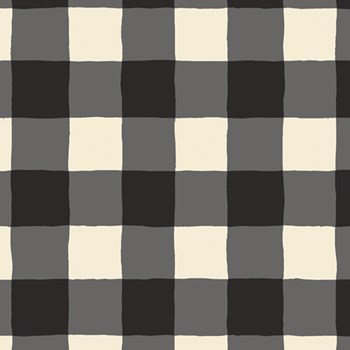 Plaid of my Dreams Snow Rayon