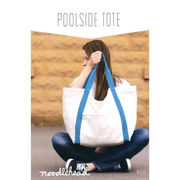 Poolside Tote Pattern by Anna Graham of Noodlehead