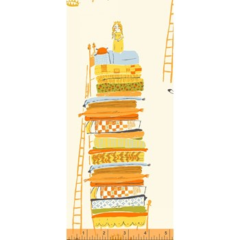 Princess and the Pea in Orange