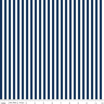 "1/4"" Stripe - Navy"
