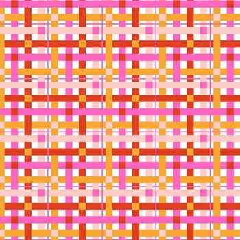 Rolling Pin Plaid - Pink
