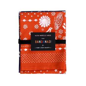 Ruby Star Society Bandanas - Indigo/Persimmon