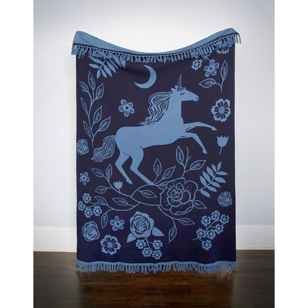 Ruby Star Society Throw - Unicorn