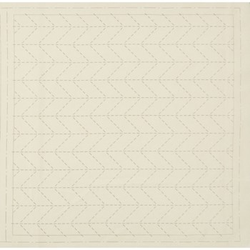 Sashiko Pre-Printed Cloth - Sugiaya Off-White
