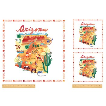 "State 24"" Panels - Arizona"