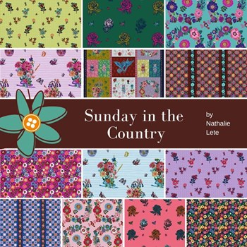 Sunday in the Country Half Yard Bundle