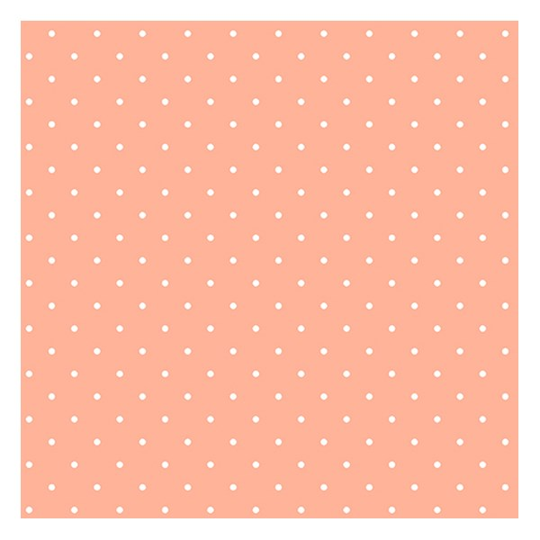 Candy Dot - Peach Melba