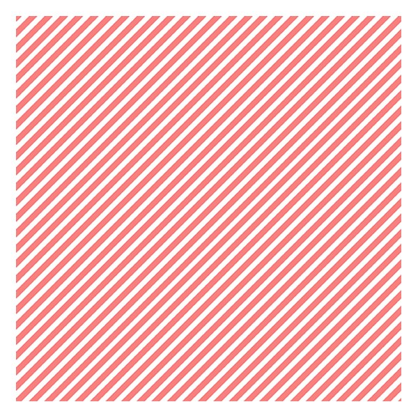 Candy Stripe - Grapefruit