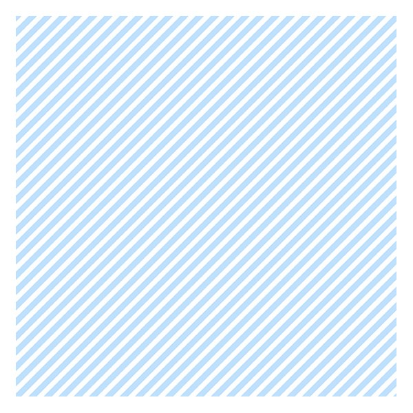 Candy Stripe - Baby Blue