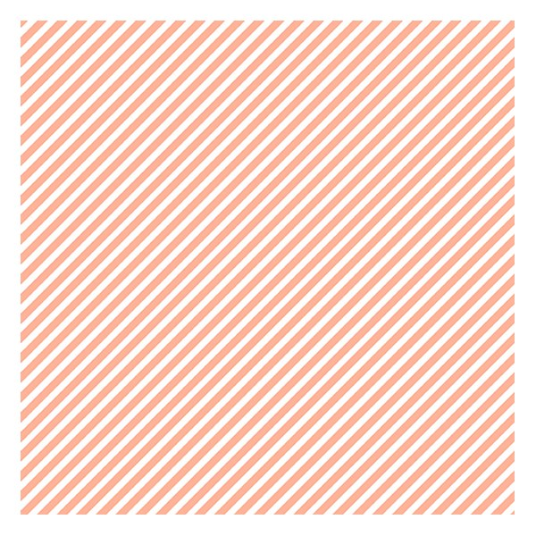 Candy Stripe - Peach Melba