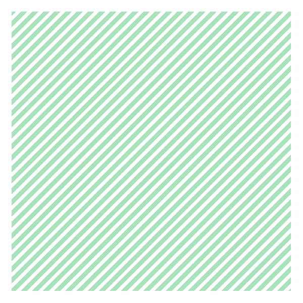 Candy Stripe - Mint Chip