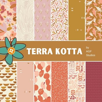 Terra Kotta Fat Quarter Bundle