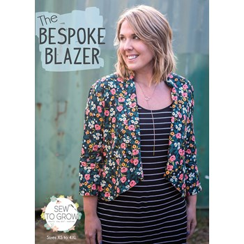 The Bespoke Blazer by Sew to Grow