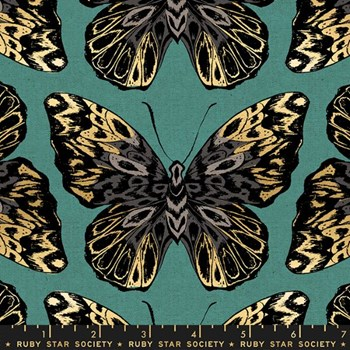 Tiger Fly Queen CANVAS - Aqua
