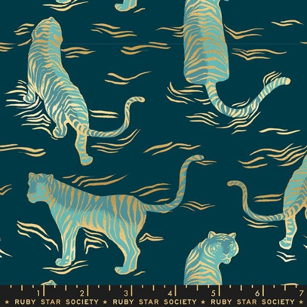 Tiger Fly Tigress - Dark Teal