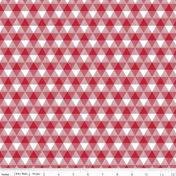 Triangle Gingham - Red