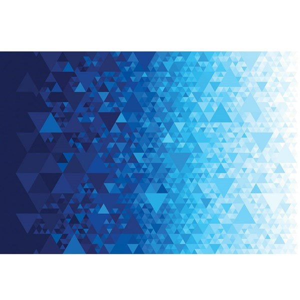 Triangular Prisms - Blue