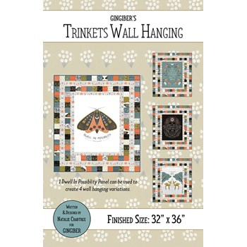 Trinkets Wall Hanging Pattern by Gingiber