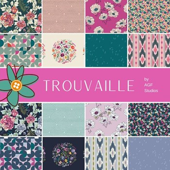 Trouvaille Fat Quarter Bundle