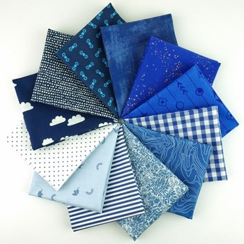 Color Play True Blue Fat Quarter Bundle - Fat Quarter Bundle