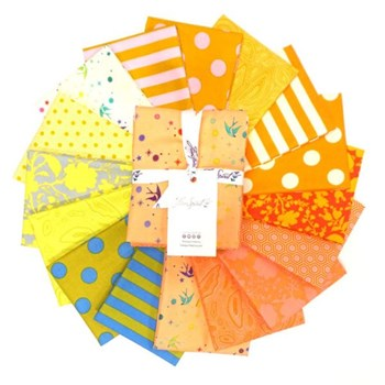 True Colors Fat Quarter Bundle - Goldfish