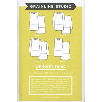 Uniform Tunic by Grainline Studio