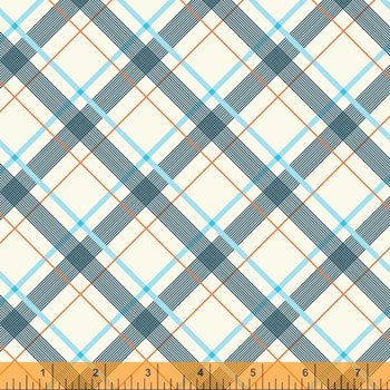 Wafer Plaid - Light Blue
