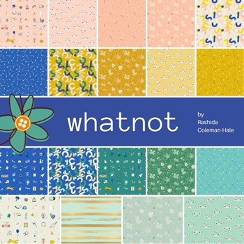 Whatnot Fat Quarter Bundle | Rashida Coleman-Hale | 19 SKUs