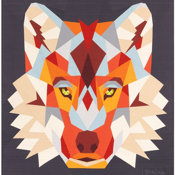 Wolf Abstractions Quilt Kit