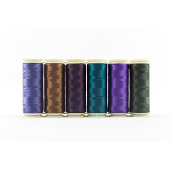 Wonderfil InvisaFil Mini Pack | 6 Colors | 400m Spools - Stormy