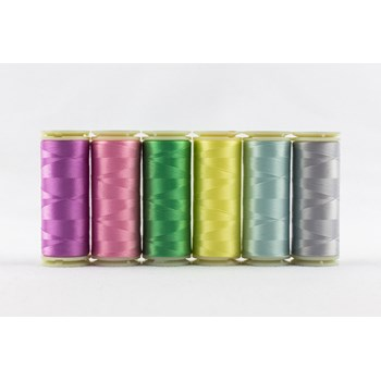 Wonderfil InvisaFil Mini Pack | 6 Colors | 400m Spools - Spring