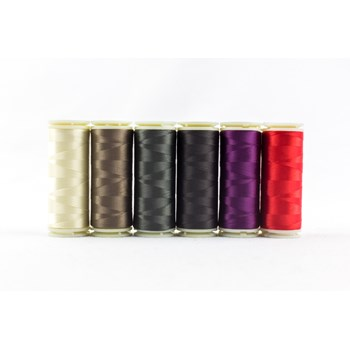 Wonderfil InvisaFil Mini Pack | 6 Colors | 400m Spools - Sophisticated