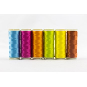 Wonderfil InvisaFil Mini Pack | 6 Colors | 400m Spools - Summer