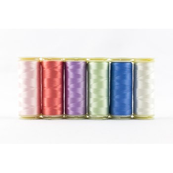 Wonderfil InvisaFil Mini Pack | 6 Colors | 400m Spools - Pastel