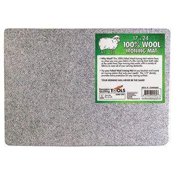 "100% Wool Ironing Mat - 17"" x 24"""