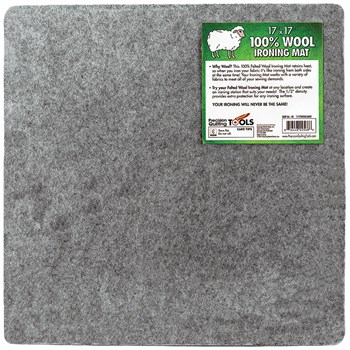 "100% Wool Ironing Mat - 17"" x 17"""