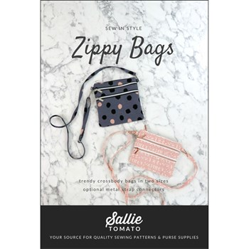 Zippy Bag Pattern by Sallie Tomato