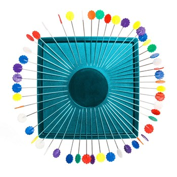 Zirkel Magnetic Pincushion - Turquoise